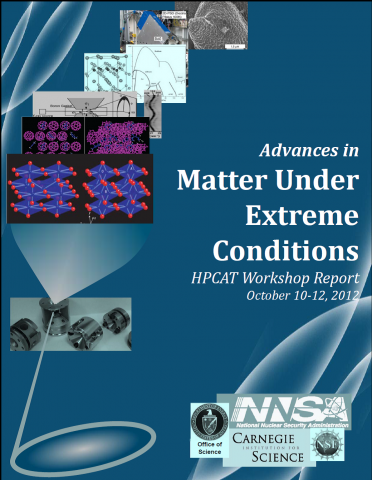 Advances in Matter Under Extreme Conditions